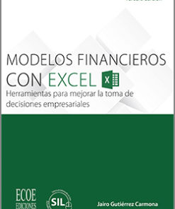 Modelos financieros con Excel 2013 - 3ra Edición