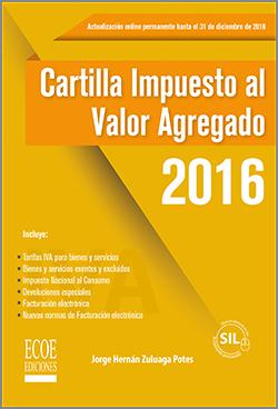 Cartilla Impuesto al Valor Agregado 2016