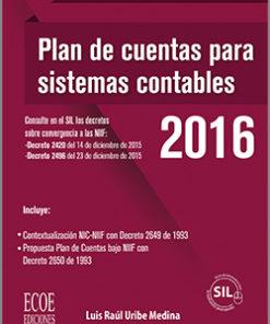 Plan de cuentas para sistemas contables 2016
