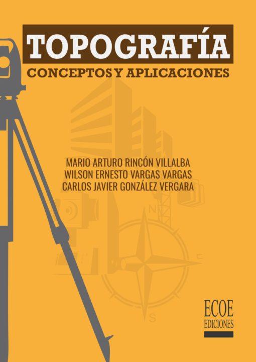 Portada libro Topografía conceptos y aplicaciones