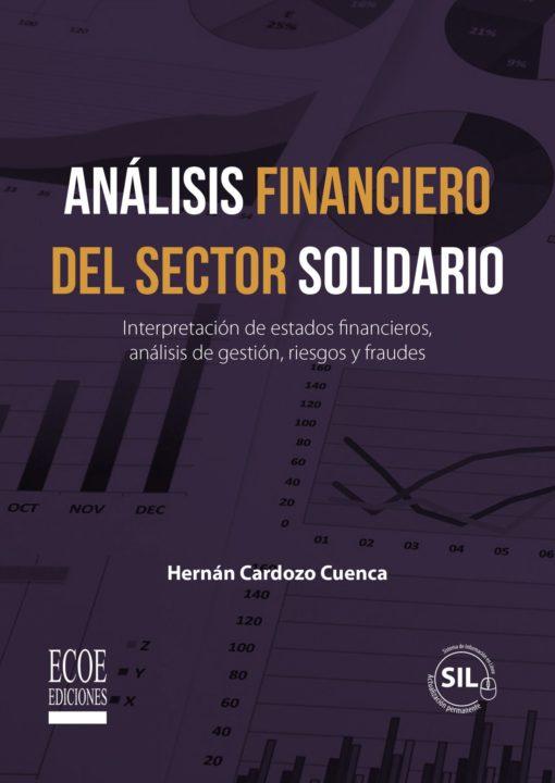 Portada libro Análisis financiero del sector solidario